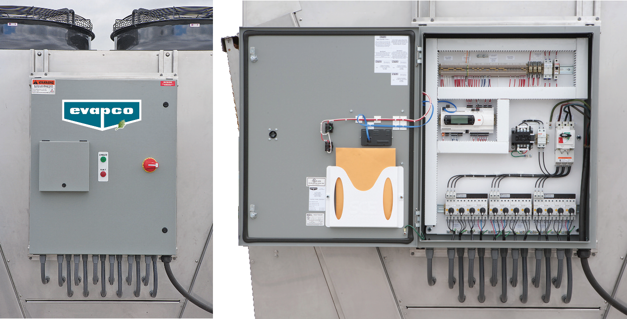 Evapco control package for dry and adiabatic units